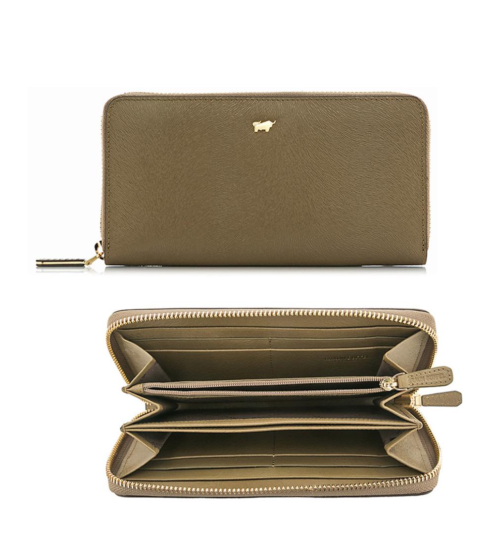 Braun Büffel Ophelia-H Zip Long Wallet