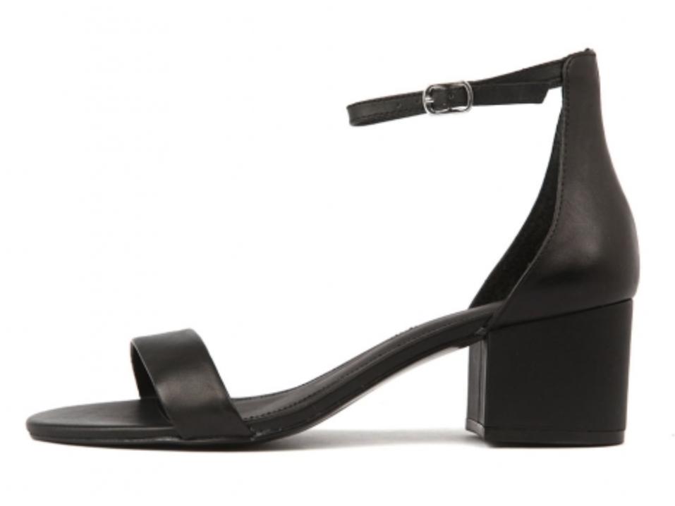 Mollini Irene Black Leather Shoes