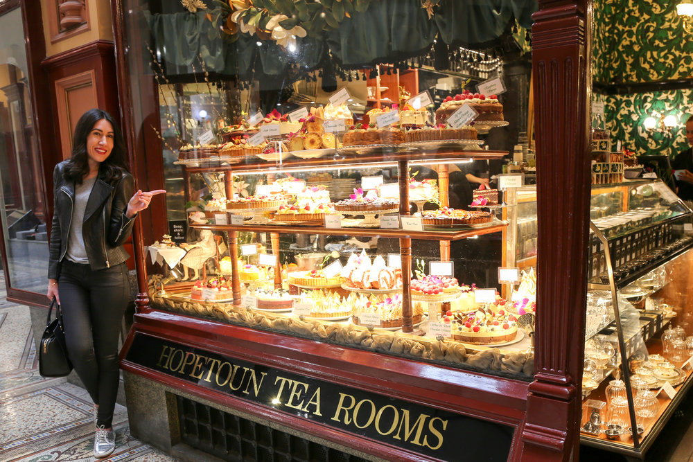 Sweet indulgence @ Hopetoun Tea Rooms