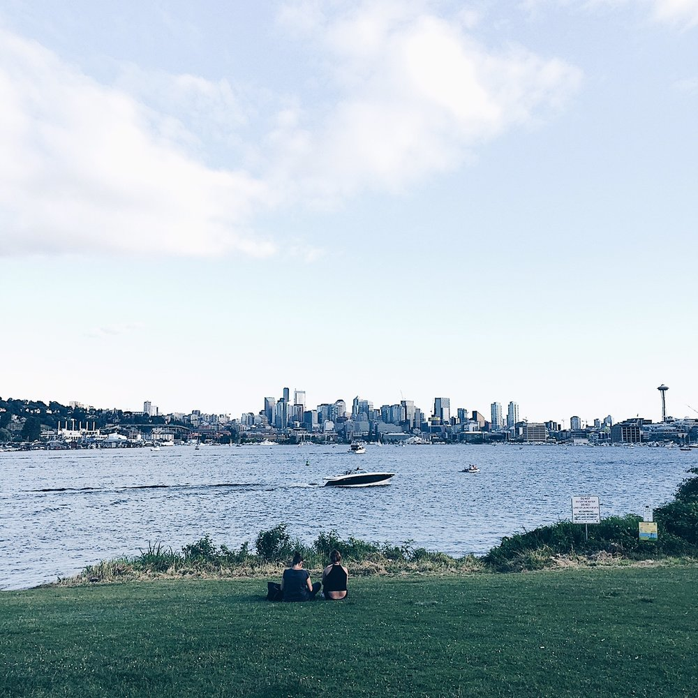 Gasworks Park. Photo by Grace Niu Design.