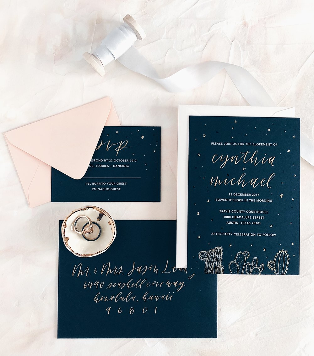 Grace Niu Design Custom Invitation Suite