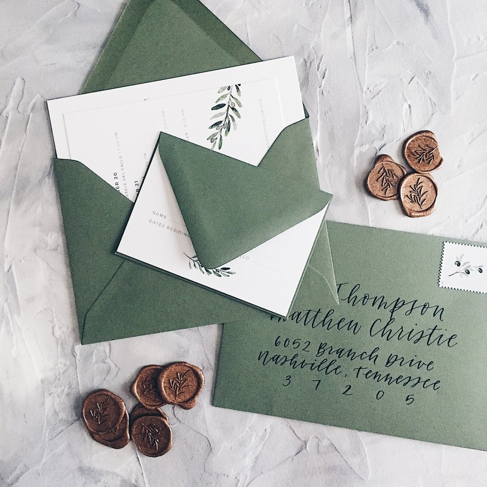 Photo, styling and calligraphy by Grace Niu Design. Shop the surfaces  here !