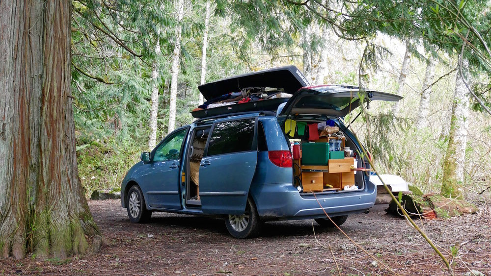 Finding The Perfect Mini Van For A Camper Conversion Yet Mighty