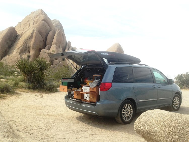 finding the perfect mini van for a camper conversion mini yet mighty