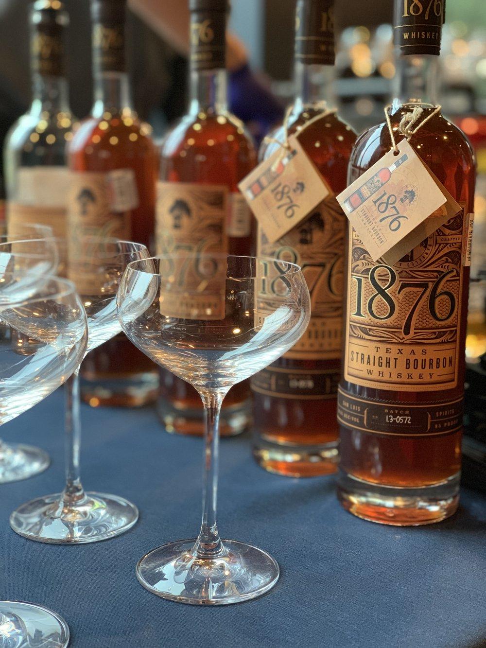 1876 Straight Bourbon Whiskey