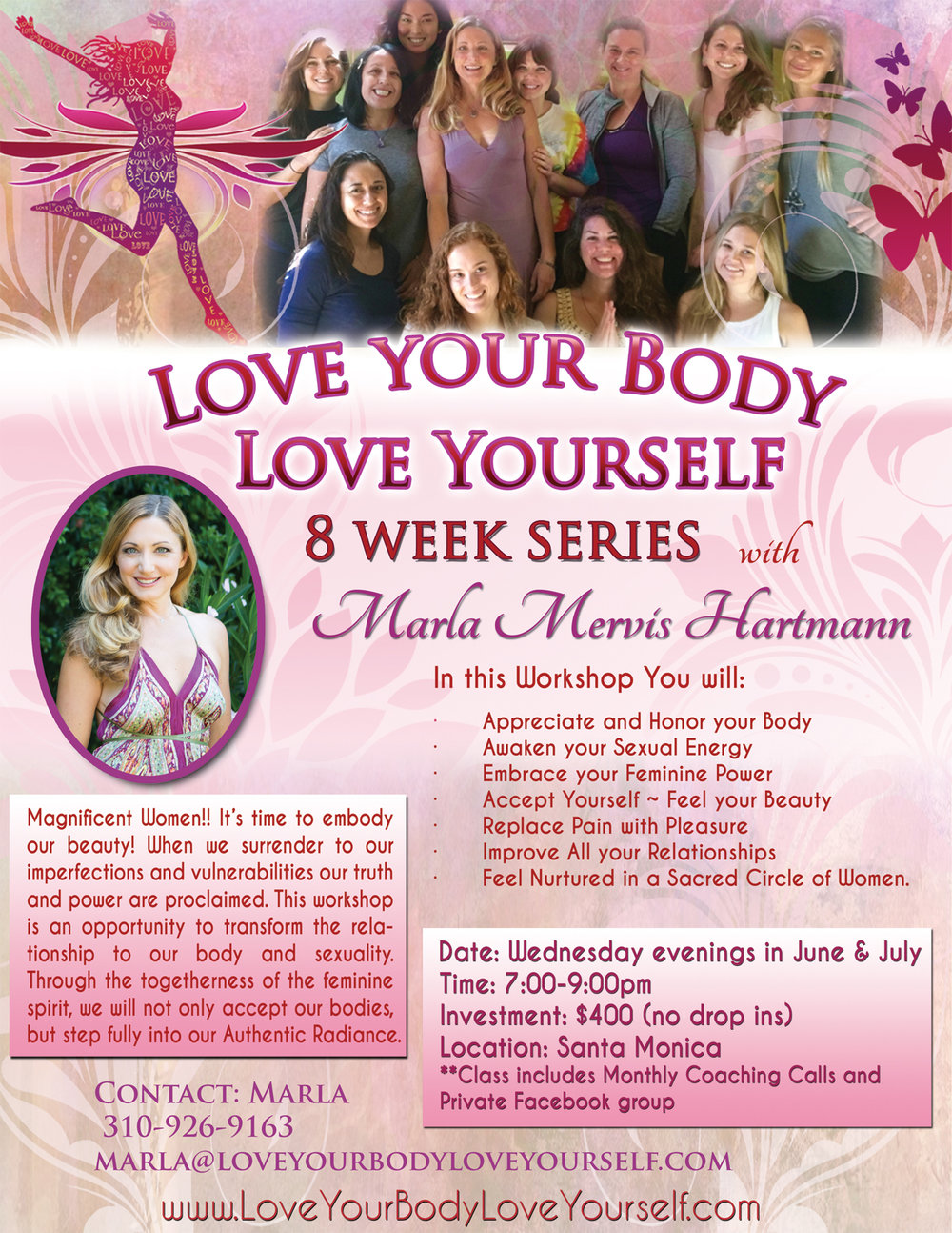 Love Your Body 8 Week Series