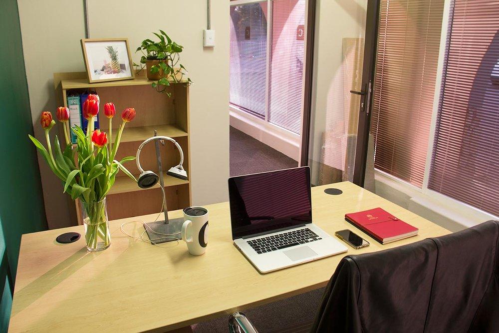 Enjoy the privacy of your own lockable office as an Executive member. Furnished or unfurnished.