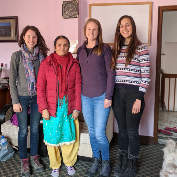 Ubuntu members Clare, Sophie and Mia with Rama, the founder and inspiration behind COSAN. Rama is an amazing lady, and we were incredibly lucky to spend time with her discussing the goals and aspirations of COSAN.