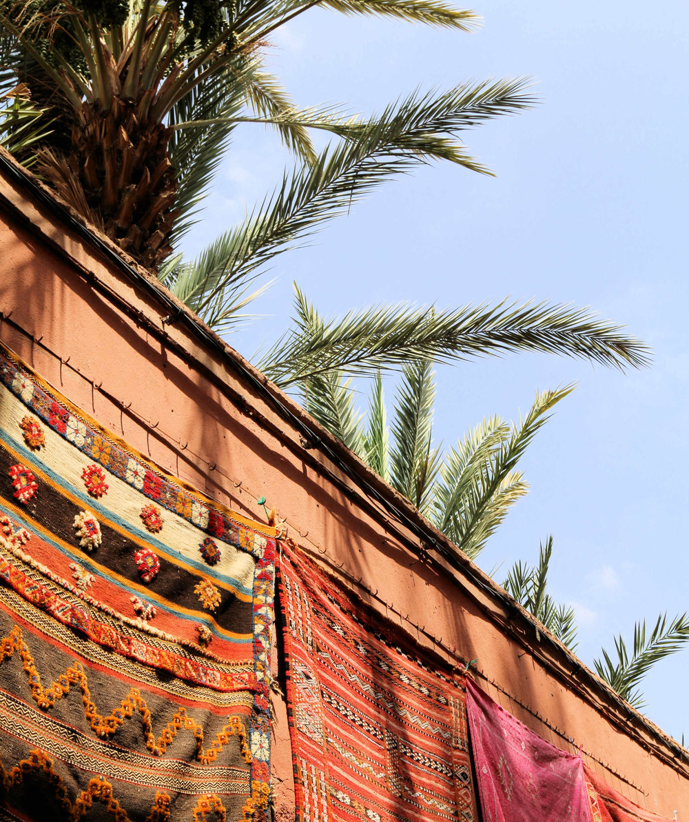 colorful marrakech