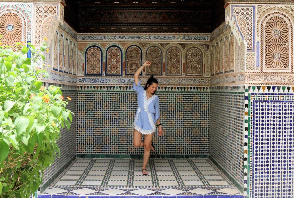exploring marrakech
