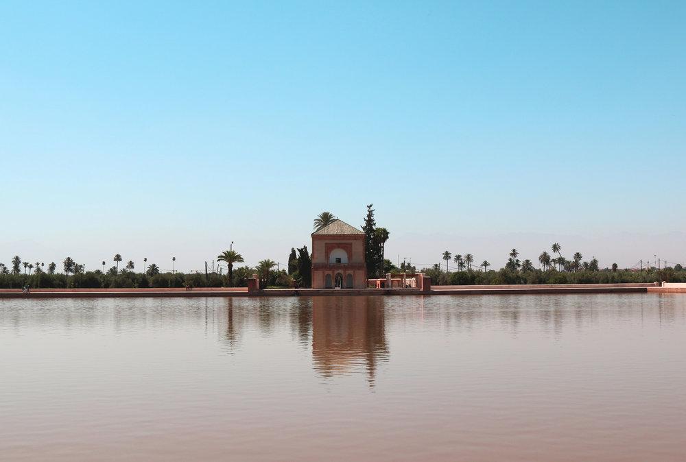 menara gardens - exploring marrakech