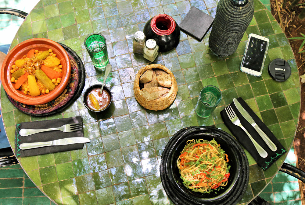 le jardin restaurant marrakech