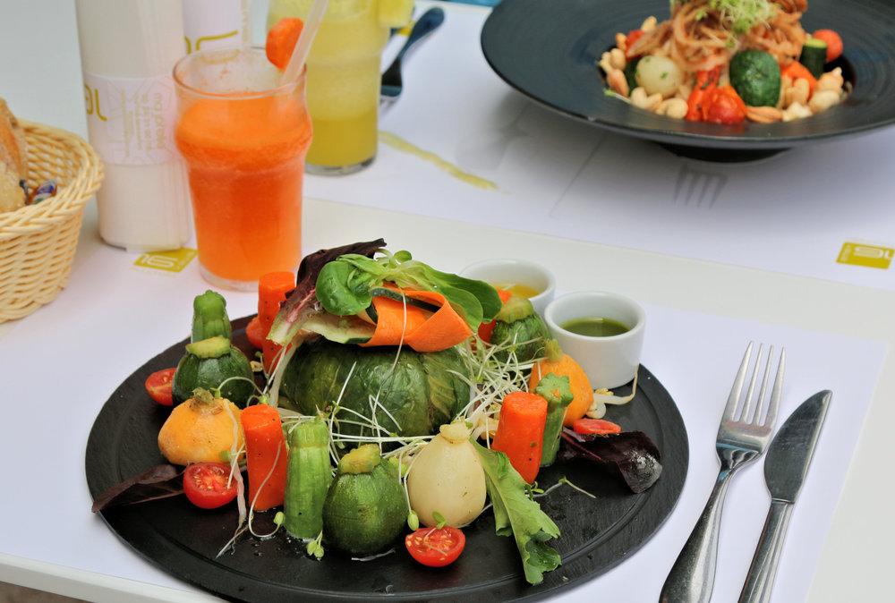 kaowa restaurant marrakech vegan food