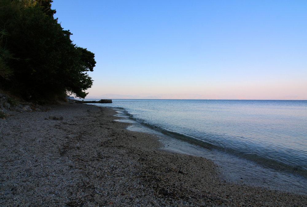 perama beach corfu