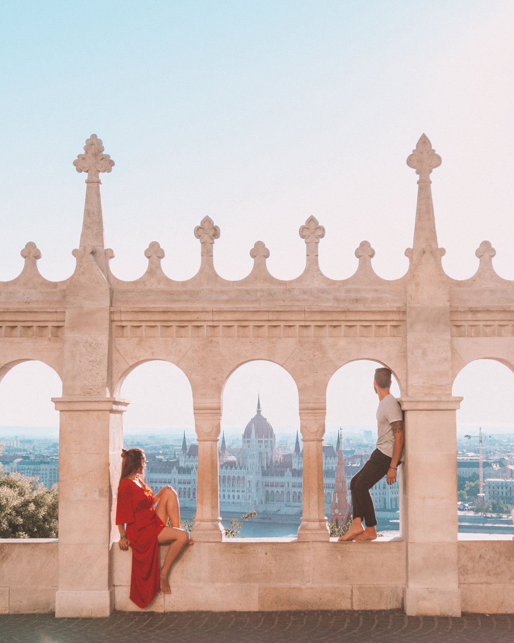 freeoversea travel couple budapest hungary instagram best places fishermens bastion what to do things to see
