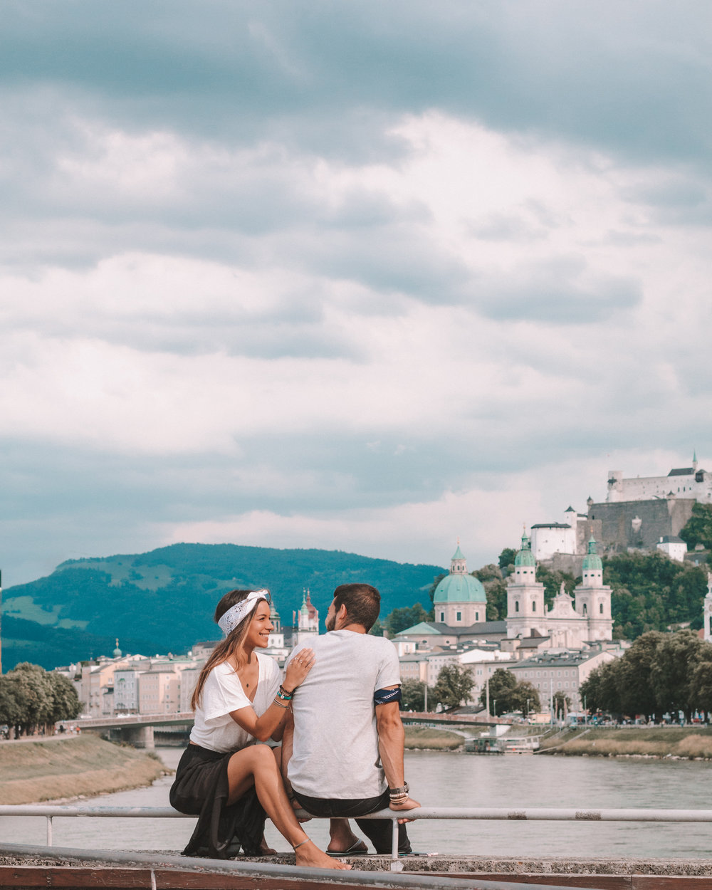 best sunset photos places instagram travel couple beautiful interrail europe city views freeoversea salzburg