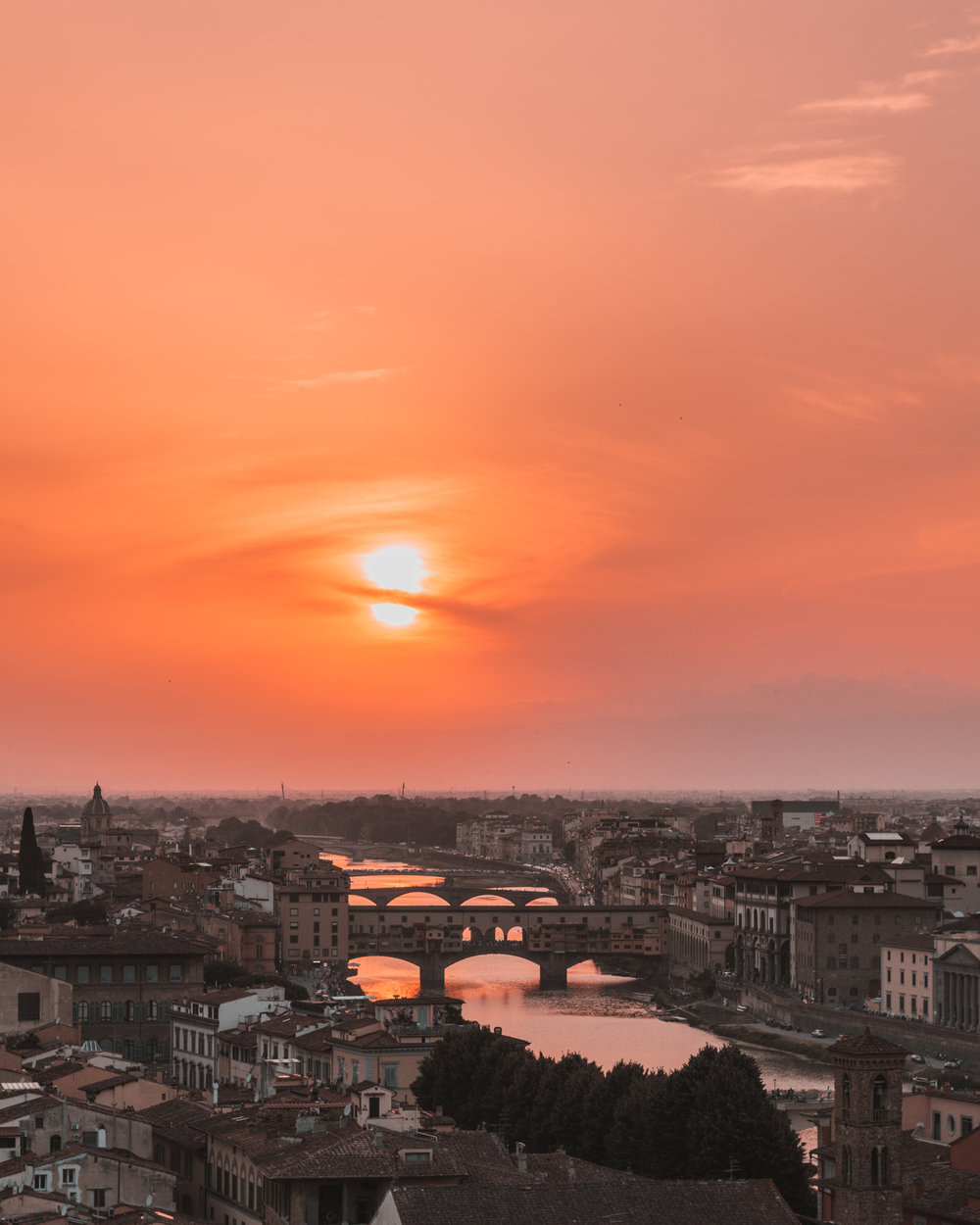 best sunset photos places instagram travel couple beautiful interrail europe city views freeoversea florence