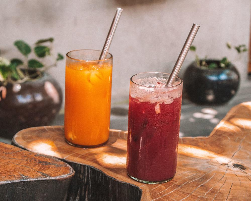 smoothies fruit juices detox best canggu bali eat food delicious vegan vegetarian organic bio