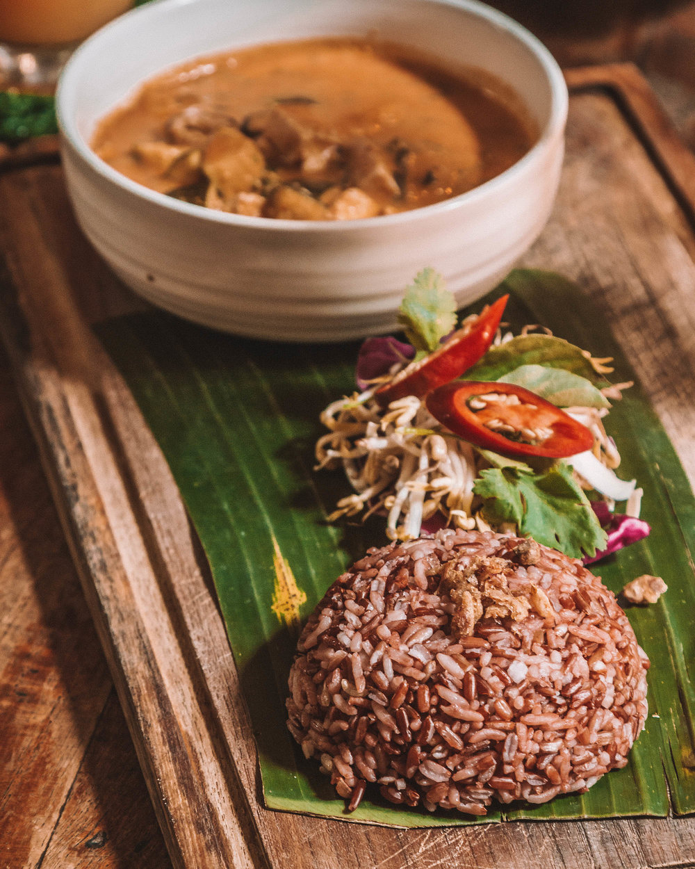 my warung traditional indonesian food canggu bali vegan options vegetarian delicious affordable prices