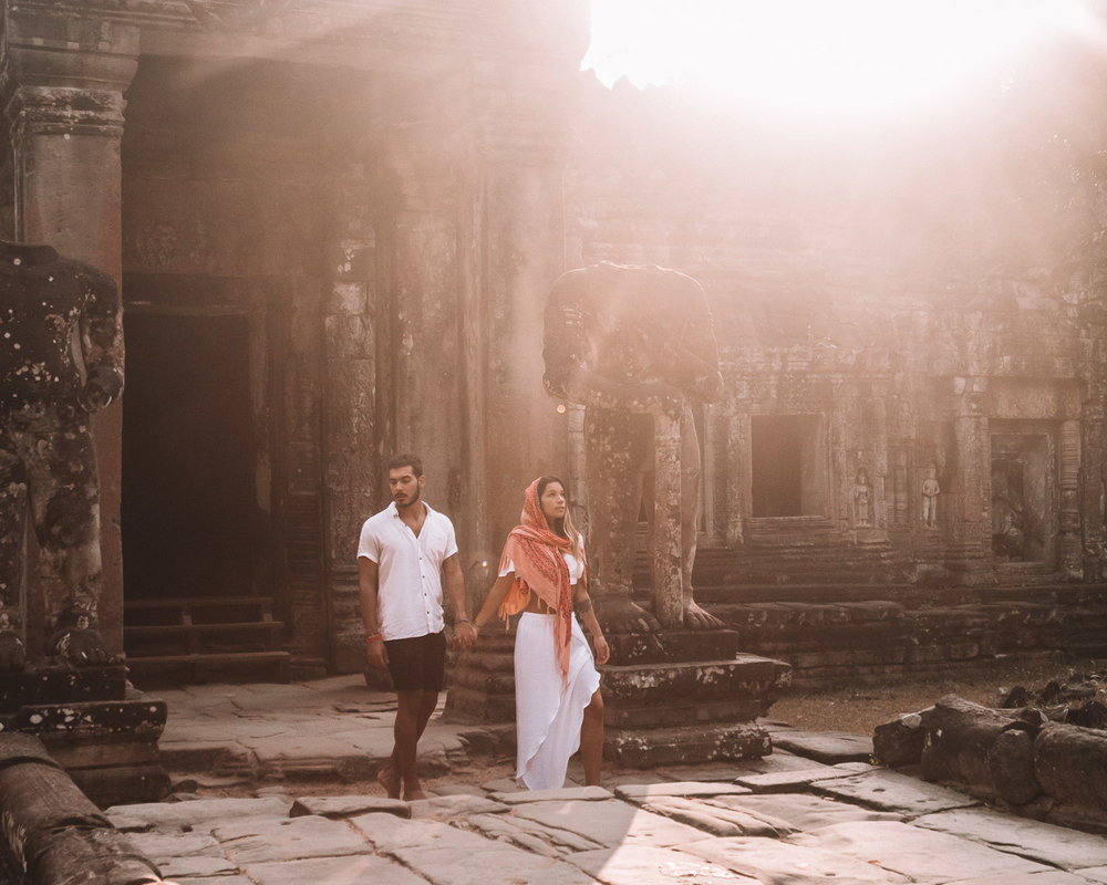 travel couple content creators ethical influencers bloggers cambodia world best beautiful instagrammers