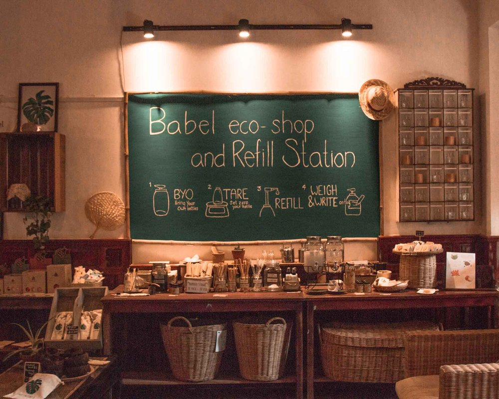freeoversea babel guesthouse siem reap cambodia best eco friendly hotels travel sustainable conscious vegan organic responsible travel first eco shop and refill station
