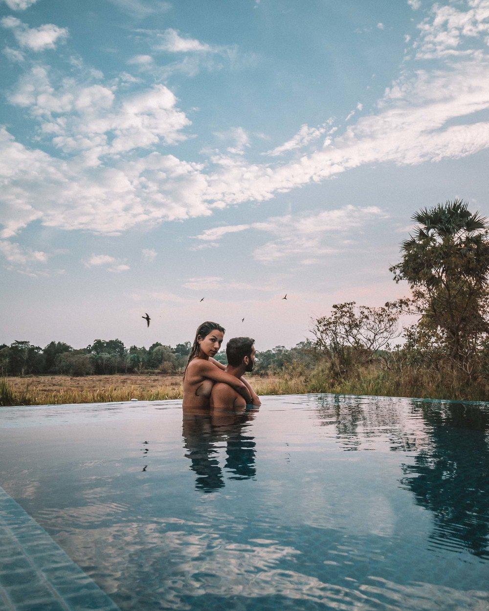 Anuradhapura ulagalla by uga escapes heritage culture Sri Lanka pool villa rice fields view couple time