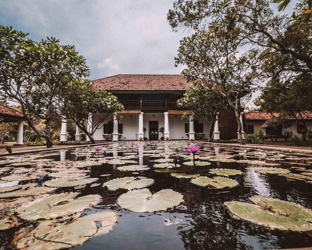 Anuradhapura ulagalla by uga escapes heritage culture Sri Lanka entrance view ancient building