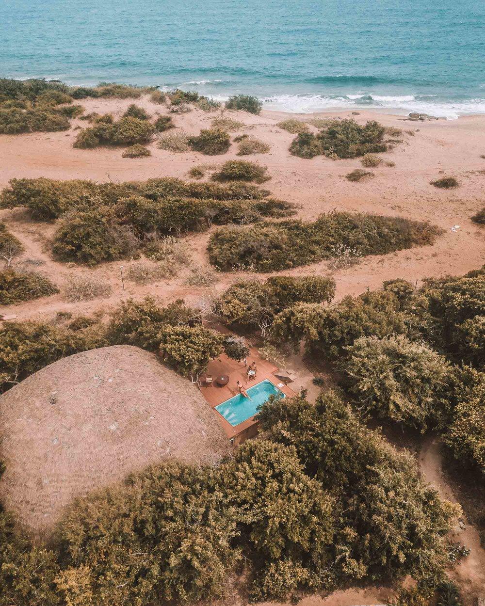Yala national park Chena Huts uga escapes villa view beach front property best safari camp in Sri Lanka