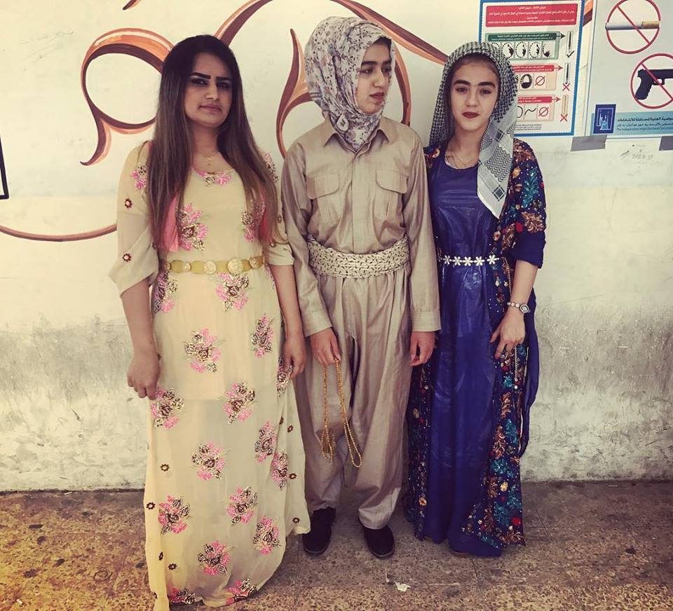 KIRKUK | Fashion forward voters.  #iraqelections2018 . May 12, 2018.