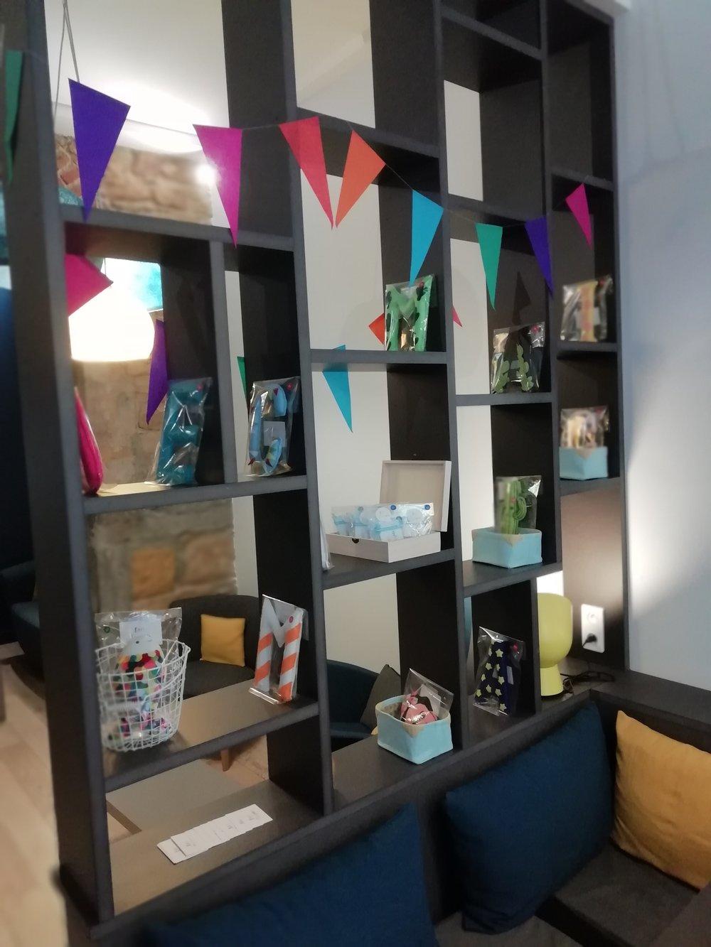 L'expo-vente au Tout Petit Café