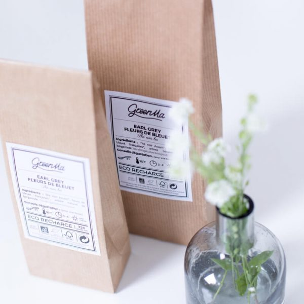 Le thé earl grey aux fleurs de bleuet