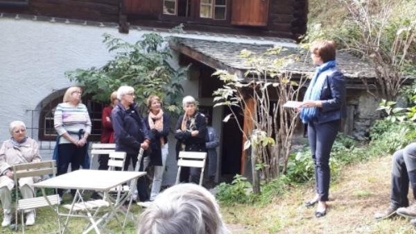 Willkommen von Präsidentin Karin Metzger
