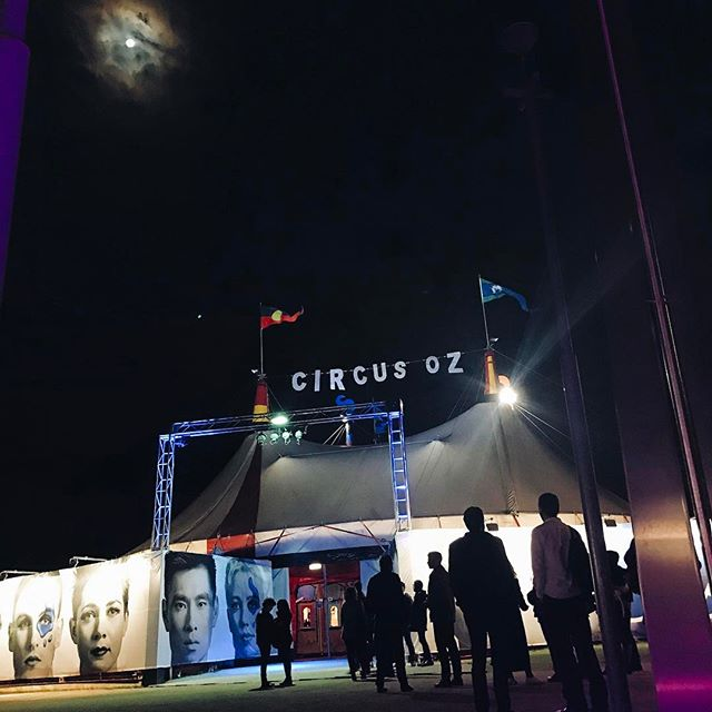 What a great way to start the weekend 🤹🏽‍♀️🎪🎭 #circusoz #worksocialevent #bigdatr