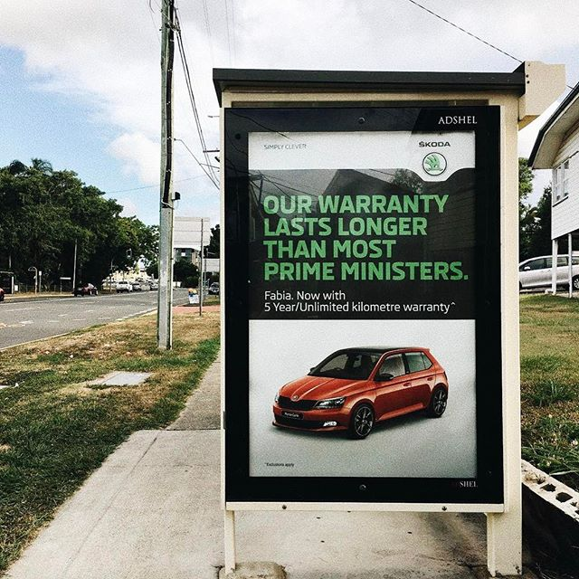 This humorous out-of-home ad by @skodaaustralia got us into tears 😂 #skoda