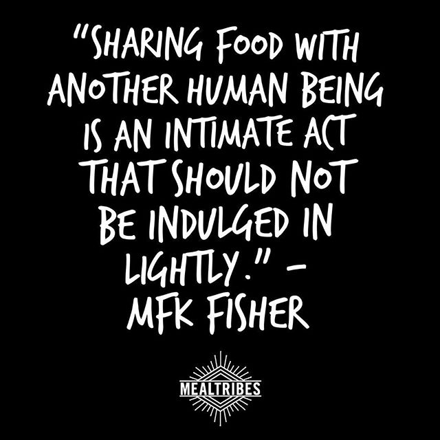 We're looking forward to you all connecting at the dinner table!  #bringafriend #findyourtribe #sharingiscaring❤️ #MealTribes
