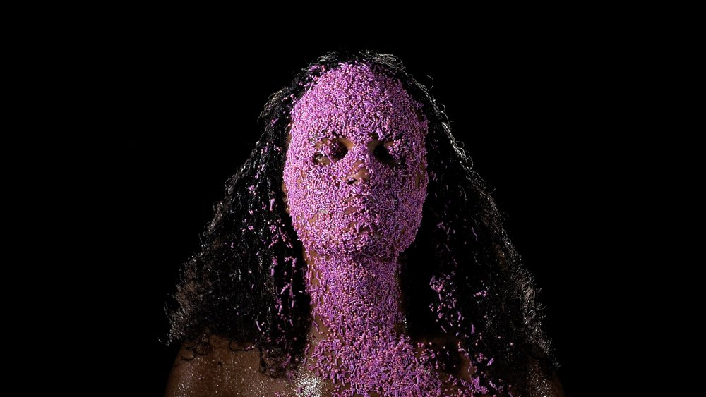 Stills from video performance by   Maritea     Dæhlin  . Camera and light: Isaac Díaz Valderrama.