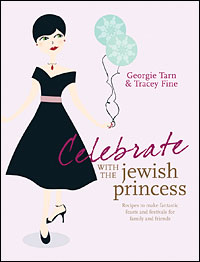 Book 2 in soft-back:  Celebrate with The Jewish Princess. Recipes to make fantastic feasts and festivals for family and friends  The Jewish Princess is here with a refreshing, modern, humorous look at Jewish festivals, celebrations and feasts and why they are so important in the life of a Jewish Princess. Taking a typically upbeat look at the Jewish calendar, this book brings festival foods into the twenty-first century with a bang.   Book 2 soft-back Amazon link.