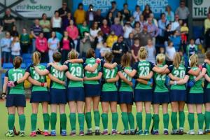The Irish Hockey Women's Hockey Team (photo c/o hockey.ie)
