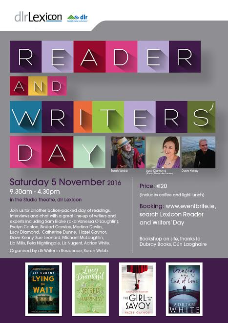 reader and writers day poster