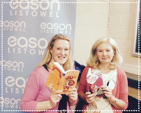 Judi and Sarah at Listowel Writers' Week