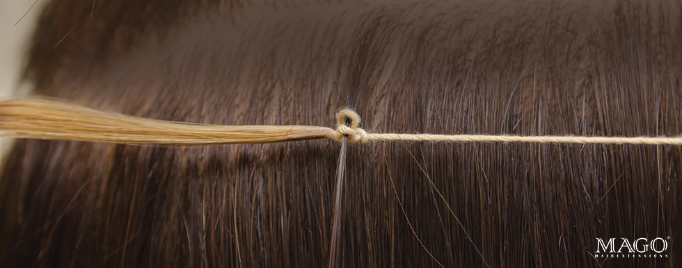 Mago Hair Uk The Revolutionary Knot Based Hair Extension System