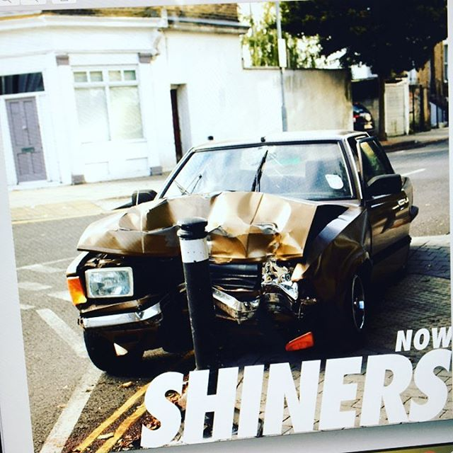 New artwork just in for @weareshiners debut EP 'NOW' out 24 Nov