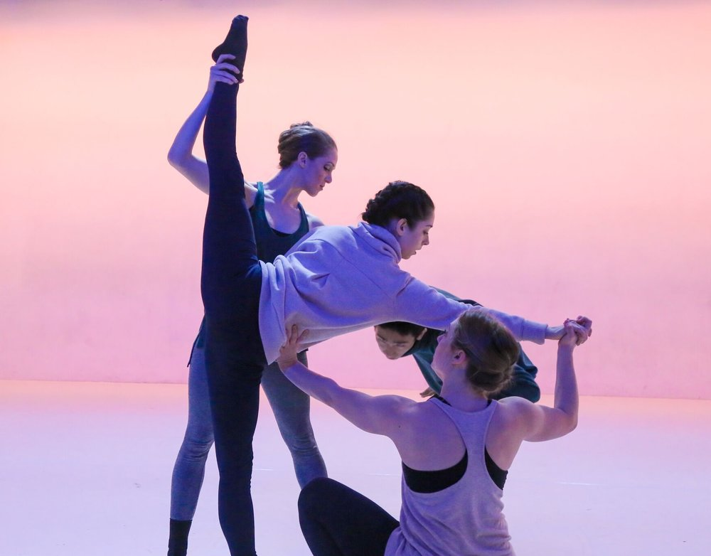 """Photo by Stephen Delas Heras; """"Messy Humans,"""" choreography by Ashley McQueen"""