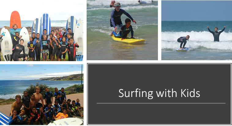 Este programa ensina surfing a criançase jovensdesfavorecidos de uma área rural, manténdo-os longe de drogas, dando-lhes apoio para se desenvolver. Os voluntáriosensinam as crianças a surfar, praticamjogos, ioga e natação e ainda ajudamcom a lição de casa após a escola.