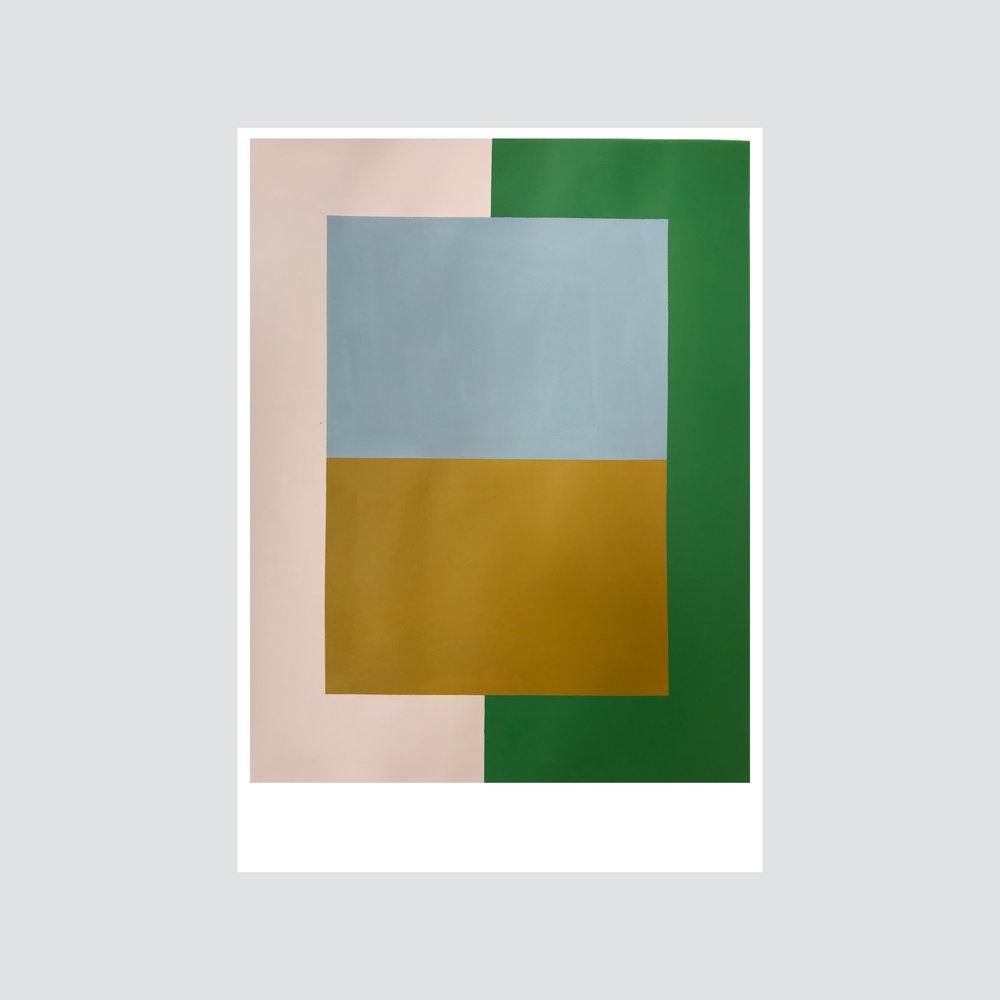 SOLD - 'Colour palette series no.2'