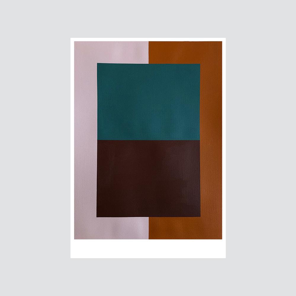 SOLD - 'Colour palette series no.15'