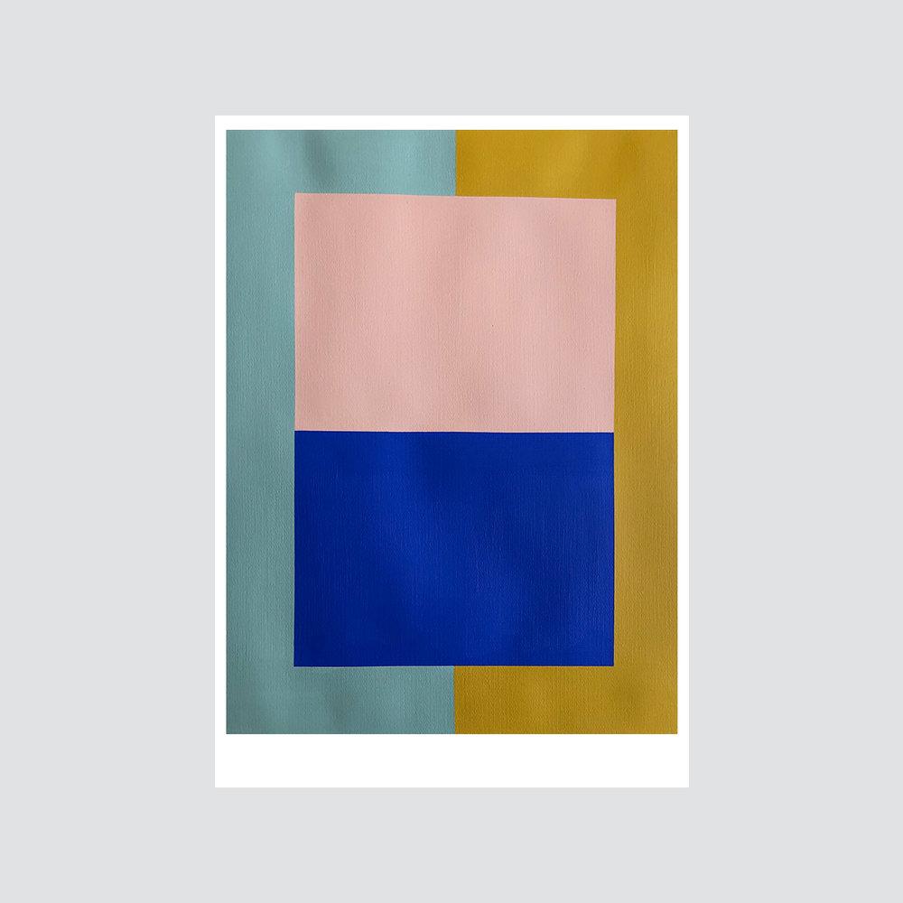 SOLD - 'Colour palette series no.14'