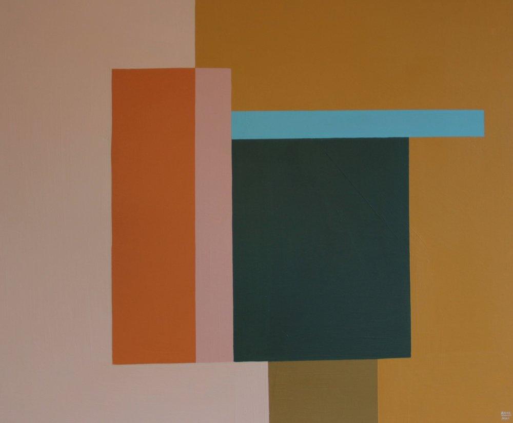 SOLD - 'Colour study no.2'