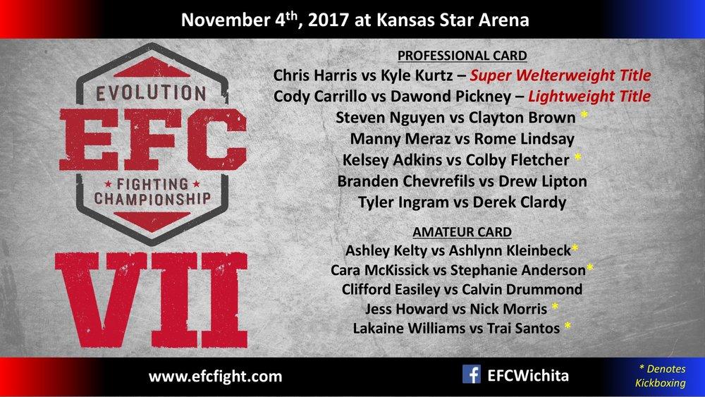 Fight card subject to change