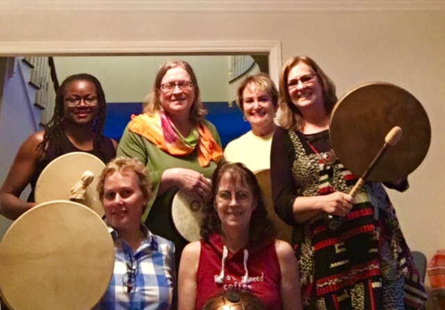Divine Drumming Bliss Circle March 16, 2018 was powerfully Spiritual and Healing!